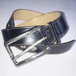 DKNY Vintage Genuine Italian Glazed Calf Leather